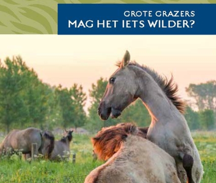 Brochure Grote Grazers in RivierPark Maasvallei
