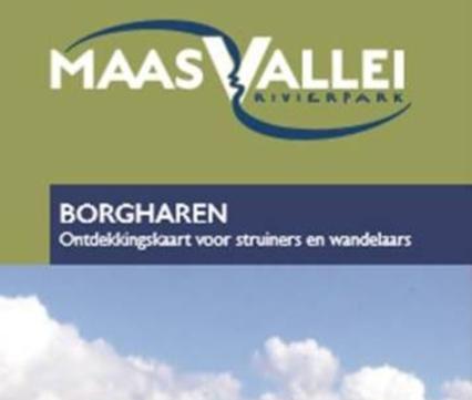 Kaart Maasvallei Borgharen
