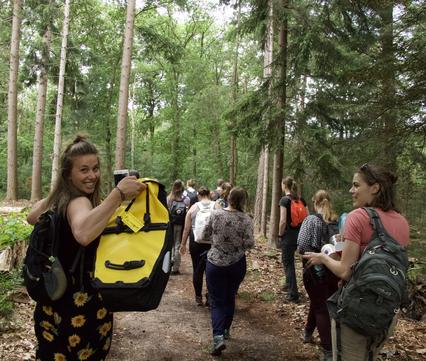 Nature Bits-themadag voor jongeren over rewilding. Foto: Nature Bits