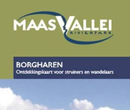 Wandelkaart RivierPark Maasvallei