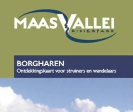 Kaart Grensmaas Borgharen
