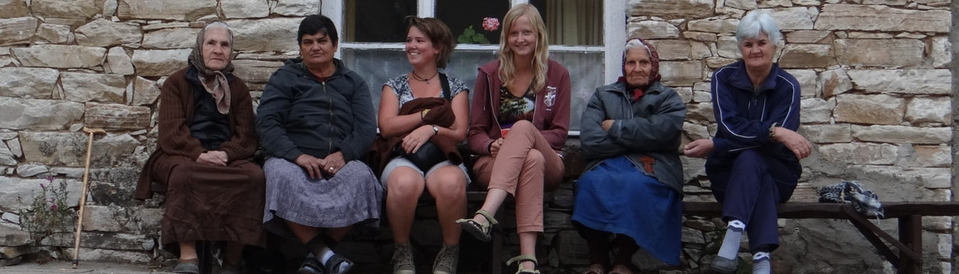 Stagiairs Wendy Liefting en Iris de Boer