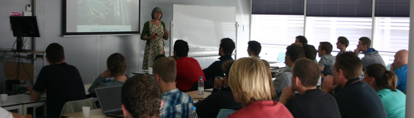 Gastcollege Delta Talent bij Hogeschool InHolland Delft