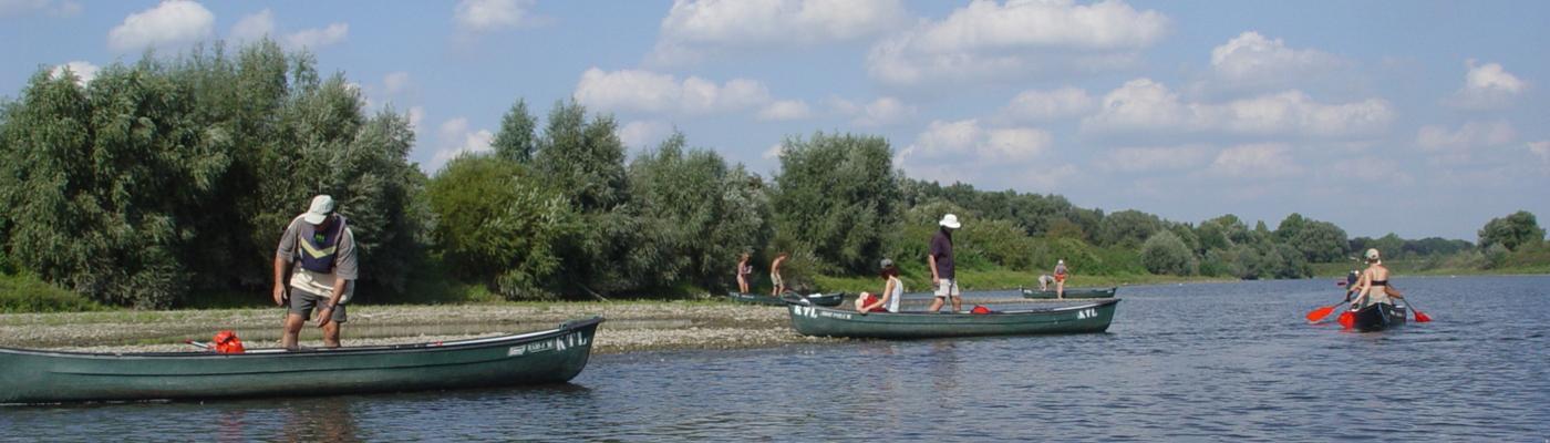 Grensmaas kanotocht