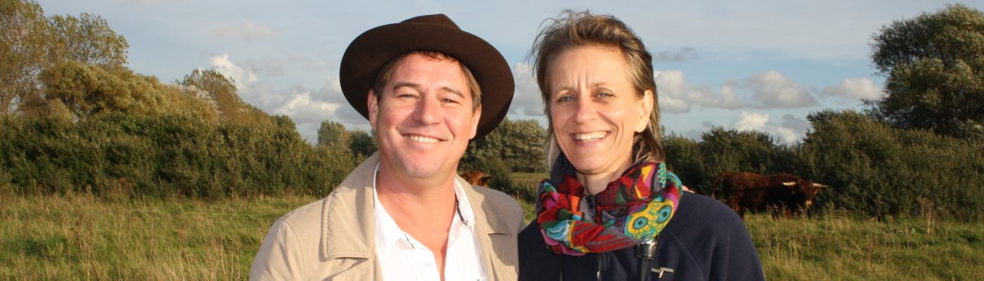 Martijn Krabbé en Petra Souwerbren