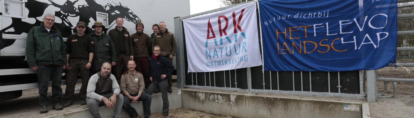 Medewerkers ARK en Flevo-landschap. Foto: Ruud Maaskant