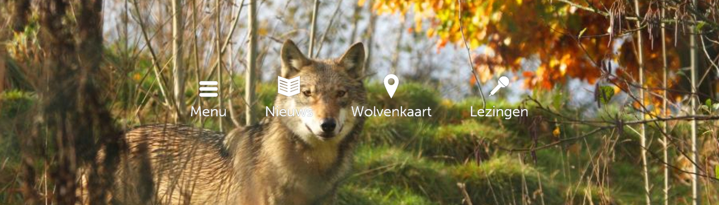 Website Wolven in Nederland