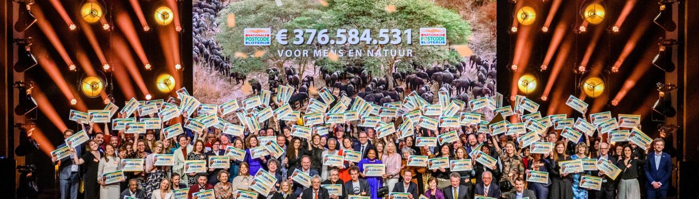 Postcodeloterij schenkt in 2020 recordbedrag 376 euro aan goede doelen