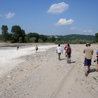 Toeristen in Bulgaarse Rhodopen