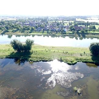 Grensmaas bij Hochter Bampd en Itteren