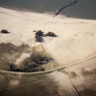 Millingerwaard na hoogwater 1993 Foto Willem Overmars