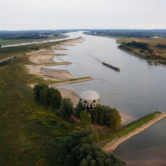 Luchtfoto Klompenwaatd