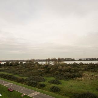 Uitzicht Landtong Rozenburg, foto: Wim van Vliet