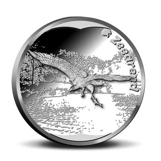 Zeearend penning in de muntencollectie Wildlife in Nederland