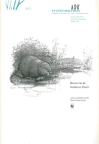 Rapport Bevers in de Gelderse Poort 1993