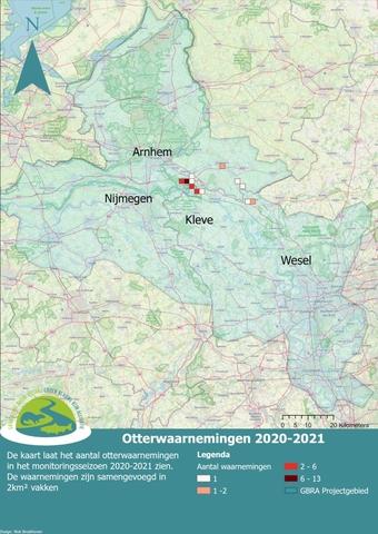 Waarnemingenkaart door Niek Broekhoven
