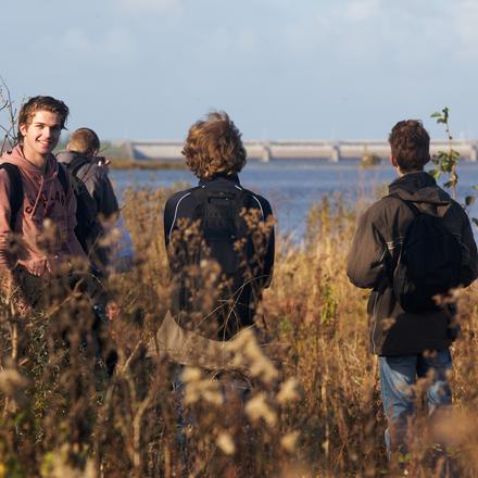 Delta Talent studenten bezoeken Plaat van Scheelhoek