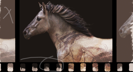 TARPAN REPAINTING AN ANCIENT PICTURE
