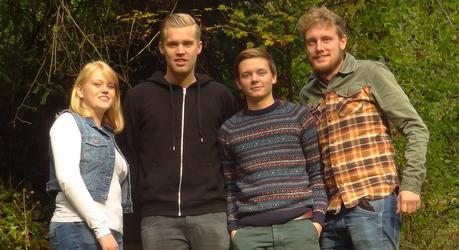 Studenten Bos en Natuurbeheer van de Hogeschool VHL