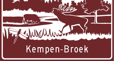 Toeristenbord ANWB A2 Kempen~Broek