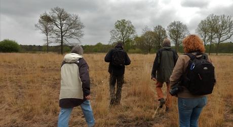 Voor- en tegenstanders van de wisent samen in de Maashorst