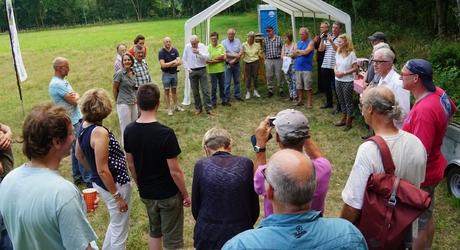 Op 2 juli 2015 werd de eerste landbouwgrond teruggegeven aan de natuur in de Maashorst