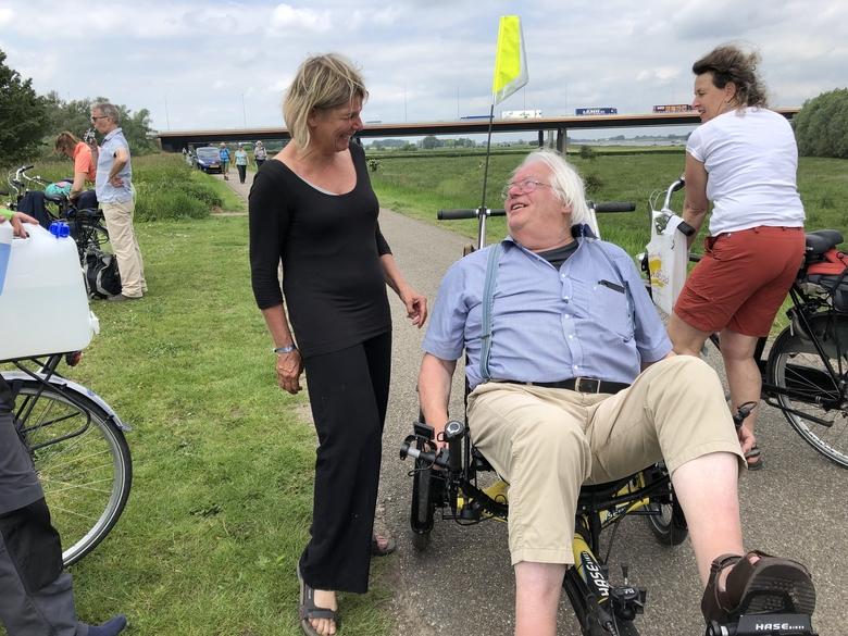 Willem Overmars bij de Rivierdaagse in 2019. Foto: Gerard Litjens