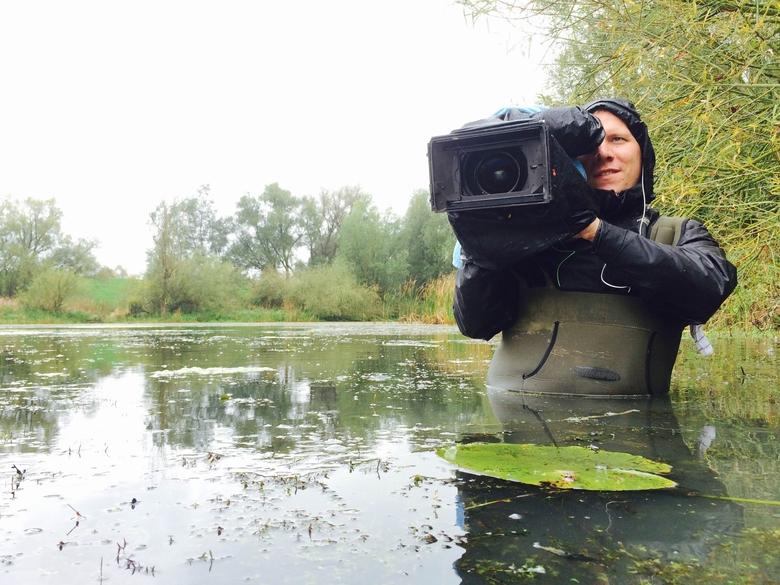 Opnames voor het natuurprogramma BuitenGewoon