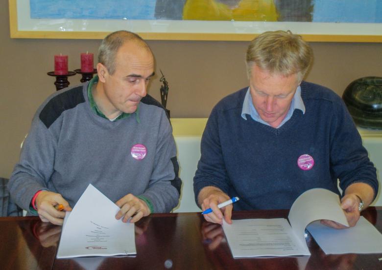 Ondertekening samenwerking Rewilding Europe en Rewilding Rhodopes Foto Kristjan Jung/rewilding Europe