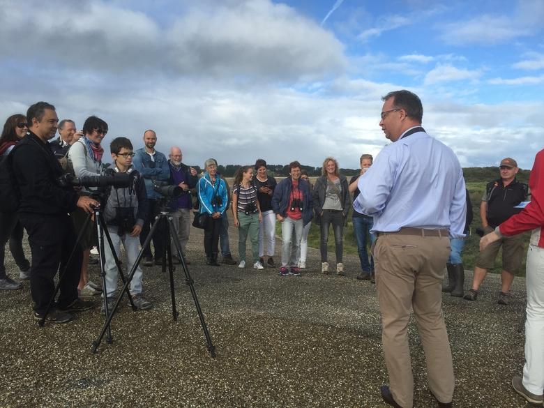 Gedeputeerde Han Weber opent de eerste Dag van het Haringvliet