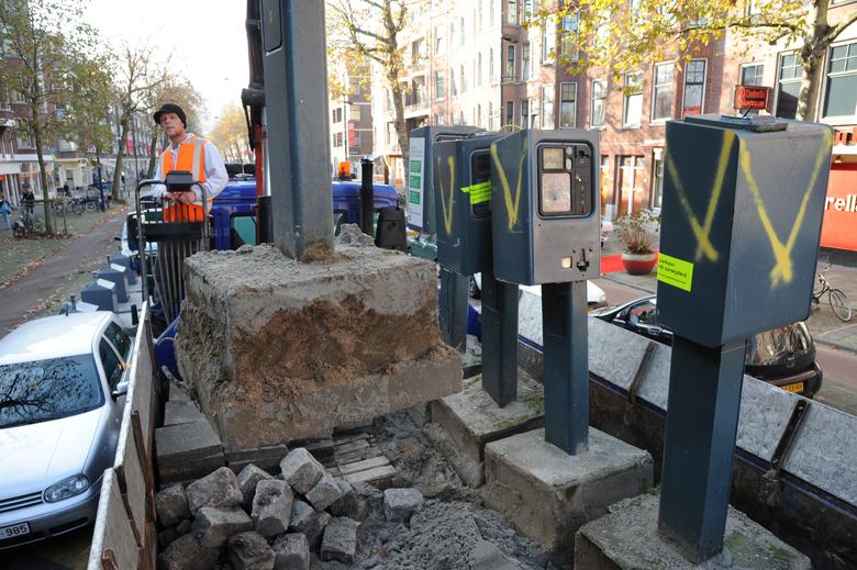 Parkeermeter voor Groene Poort