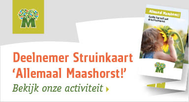 ARK is deelnemer Struinkaart 'Allemaal Maashorst'