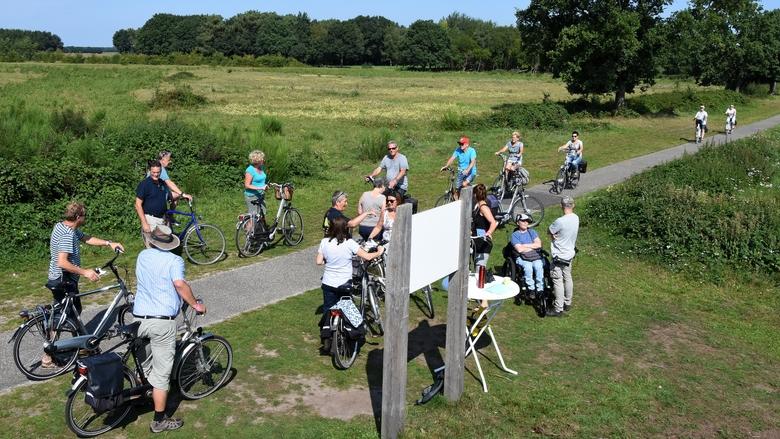 Wisenten uitkijkpunt Maashorst, foto: Martien van Dooren