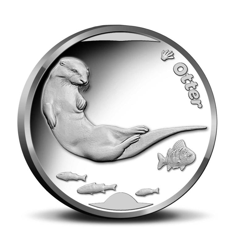 Otter penning in de Wildlife in Nederland Collectie
