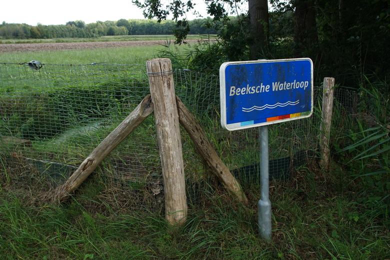 Het perceel Hooge Beek ligt aan de Beeksche Waterloop (Foto Bert Vervoort)