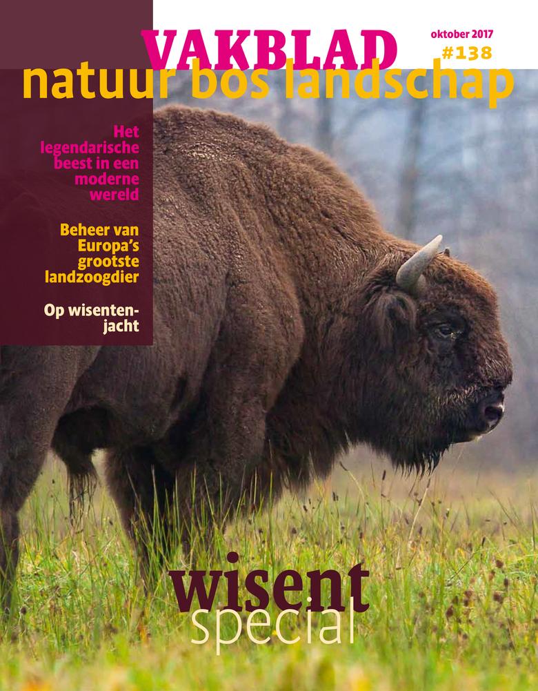 Vakblad Natuur Bos Landschap wisentspecial