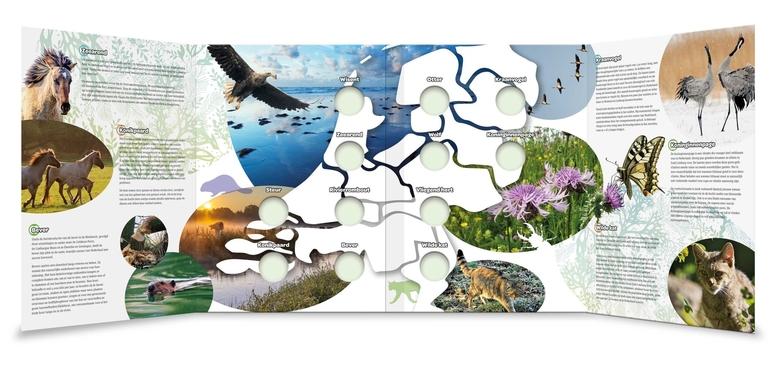 Verzamelmap Wildlife in Nederland collectie