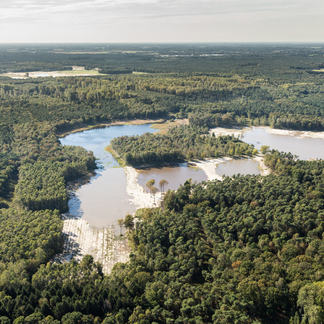 Ruimte voor water in het Weerterbos